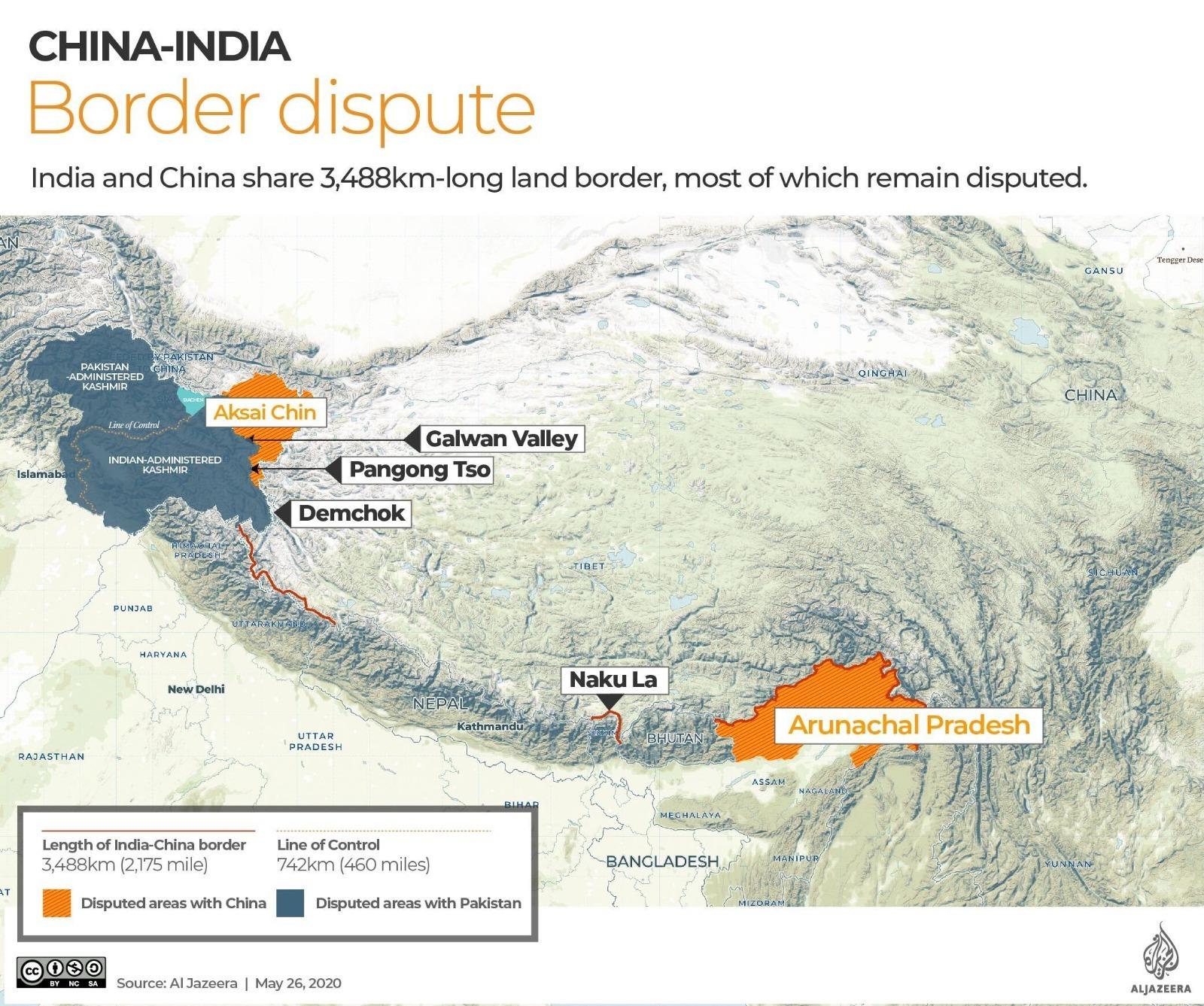 En esto consiste la crisis India-China