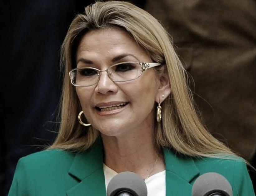 Jeanine Añez (actual presidenta de Bolivia).