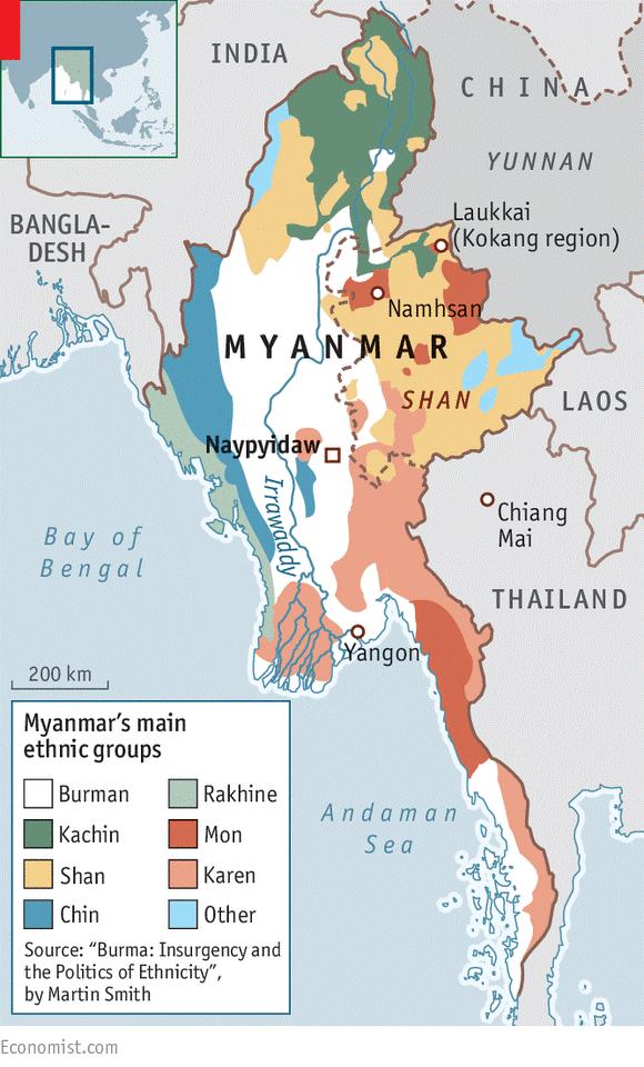 Resultado de imaxes para: myanmar ethnic groups